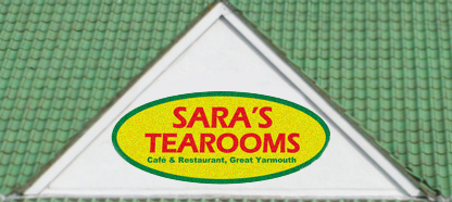 Sara's Tearoom - Restaurant & Café style Tearoom serving Quality Homemade Food and the Best Cakes on Great Yarmouth Seafront