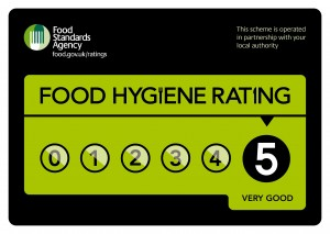 Sara's Tearooms has been rated with 5 Stars by Great Yarmouth Environmental Health team on the Food Hygiene Rating Scheme
