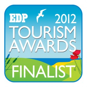2012 Finalist in Best Food & Drink Tourism Attraction Category - Sara's Tearooms, Great Yarmouth seafront