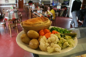 Sara's Homemade Steak & Ale Pie with Veg
