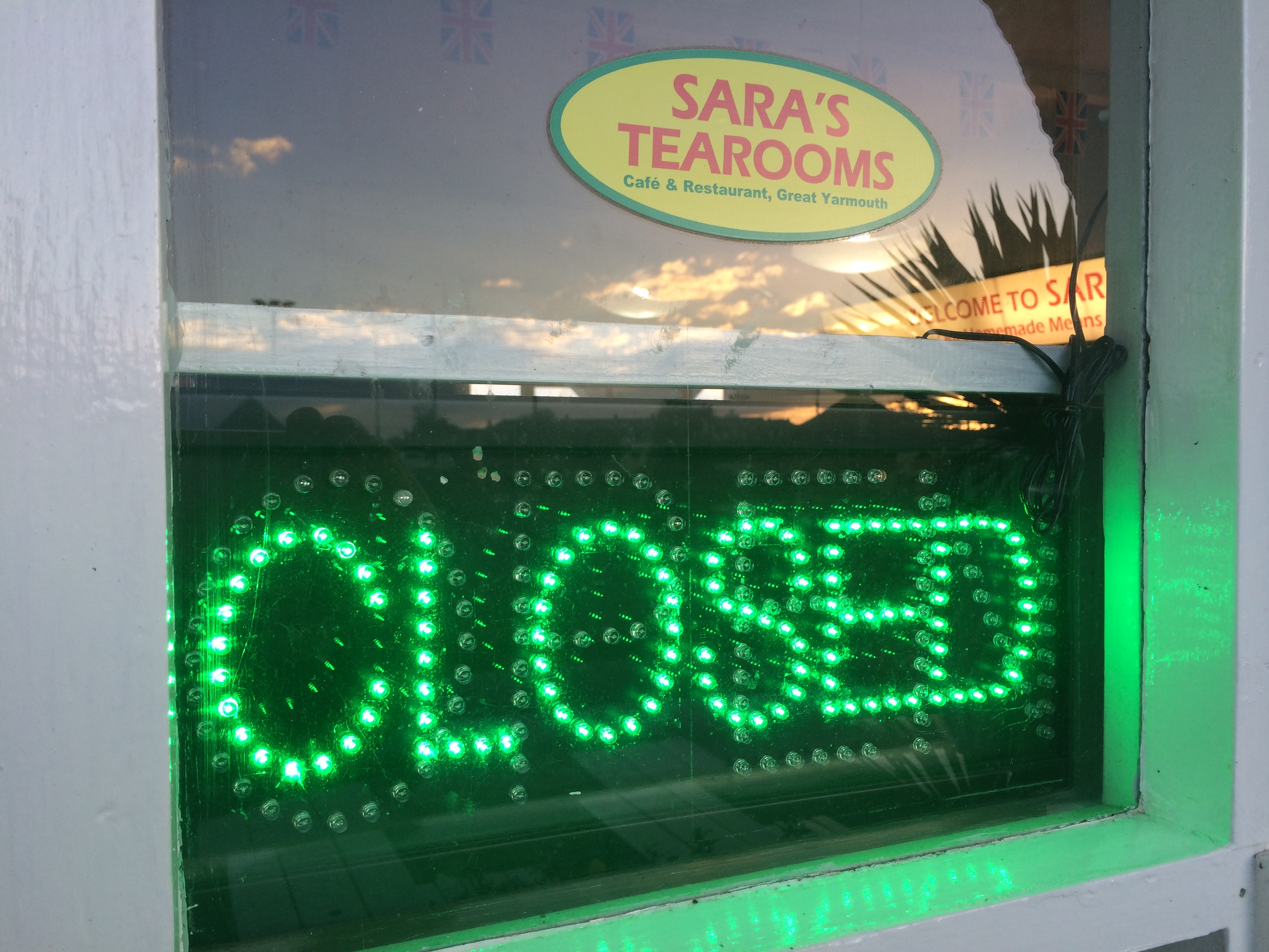 Sara's Tearooms has now Closed for the winter.